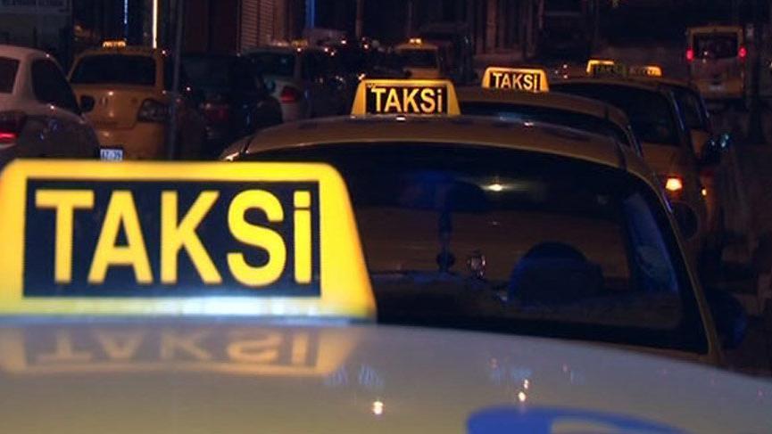 Taksiciler tez oldu