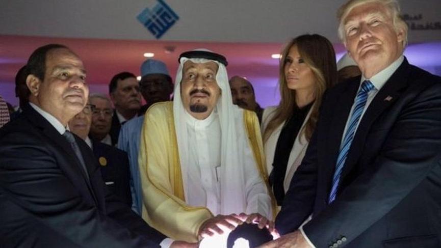 Trump Arap NATO'su kuracak iddiası