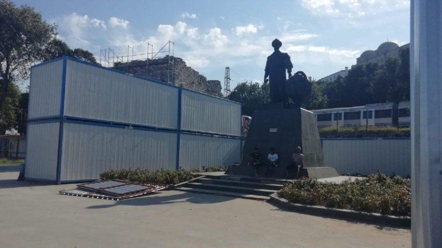 Malta'yı kuşatan Turgut Reis, şantiye kuşatması altında