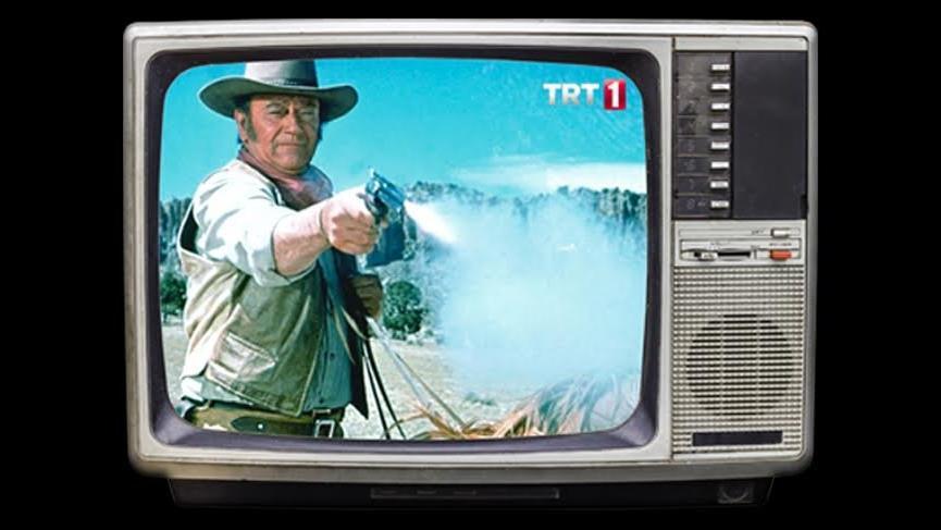 TRT John Wayne'i kaldırdı