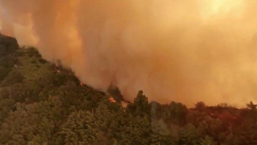 Kaliforniya'daki yangının ne zaman söndürüleceği açıklandı
