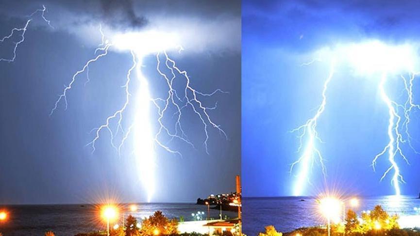 Meteoroloji o anları böyle görüntüledi!