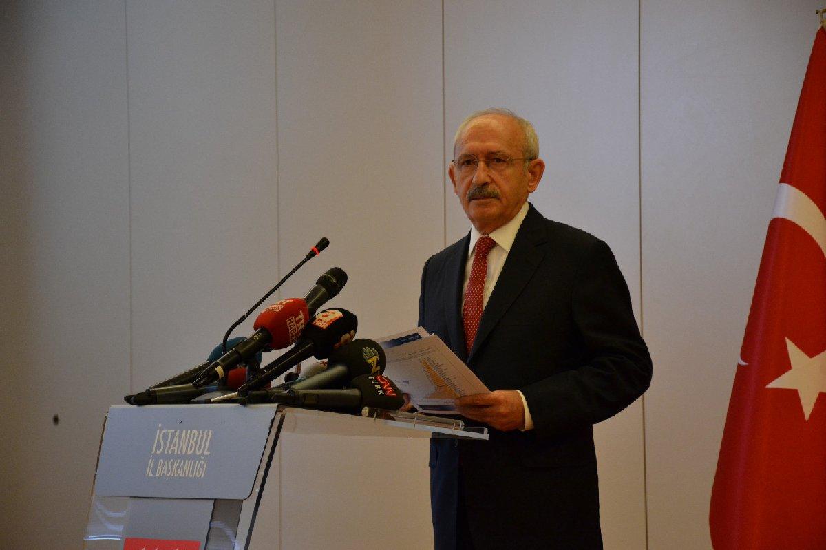 FOTO:SÖZCÜ - Kılıçdaroğlu 13 maddelik ekonomi önlem paketini açıkladı.