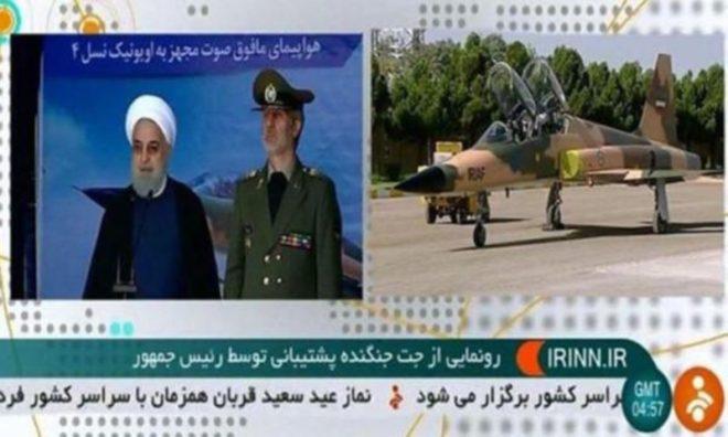 Uçağın tanıtımı televizyonda canlı yayınlandı.
