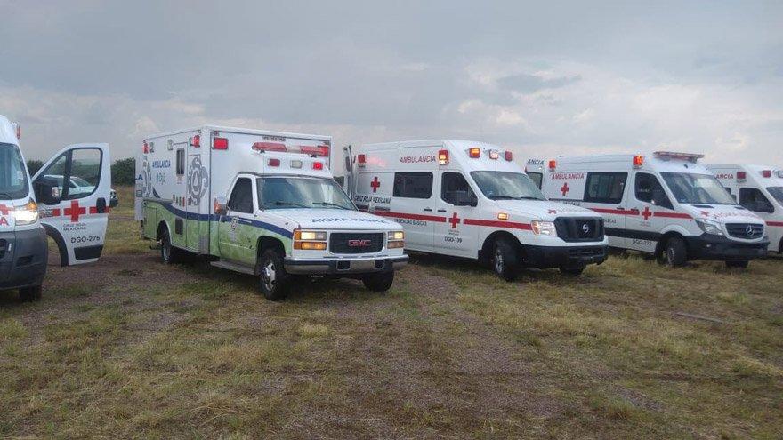 İhbar sonrası bölgeye çok sayıda sağlık ekibi sevk edildi. Fotoğraf: Reuters