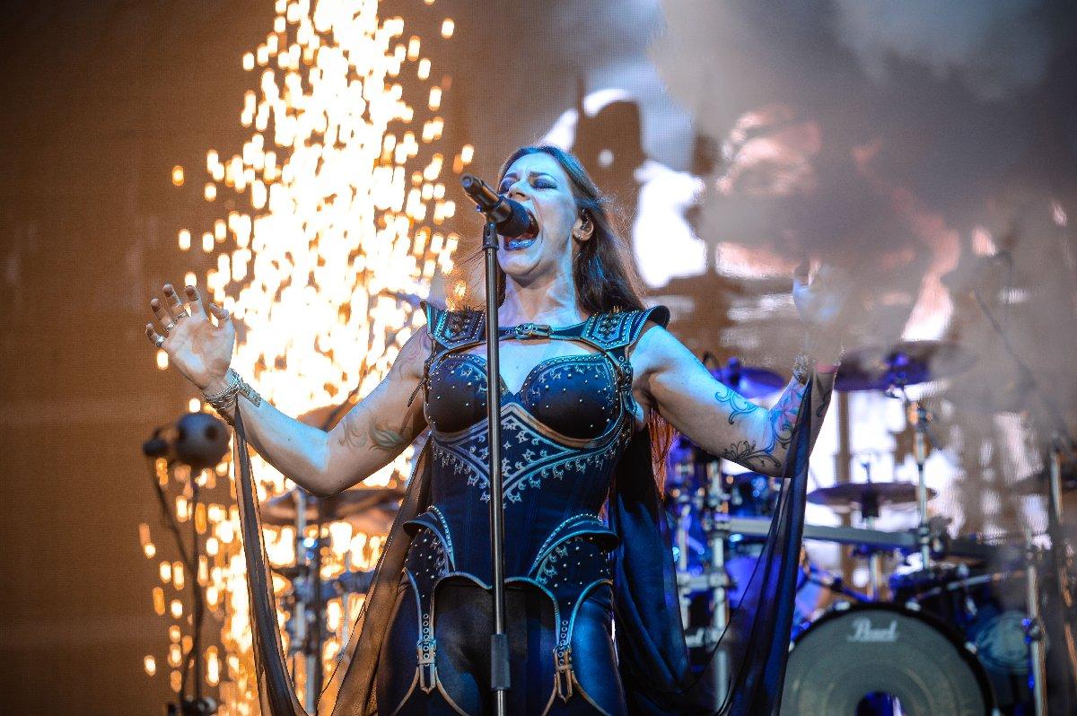 Festivalde Nightwish de sahne aldı.