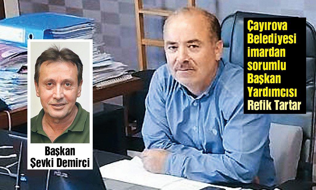 """'SATTIĞIMLA TAKSİT ÖDÜYORUM' AKP'li Başkan Yardımcısı Refik Tartar SÖZCÜ'ye, """"Birini sattım diğerini aldım. Sattığımla taksitleri ödüyorum"""" dedi."""
