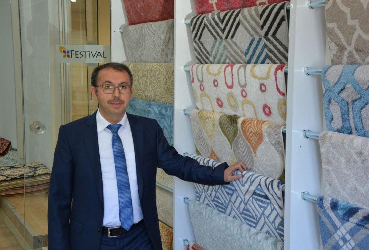 Güneydoğu Halı İhracatçıları Birliği (GAHİB) Başkanı Ahmet Kaplan