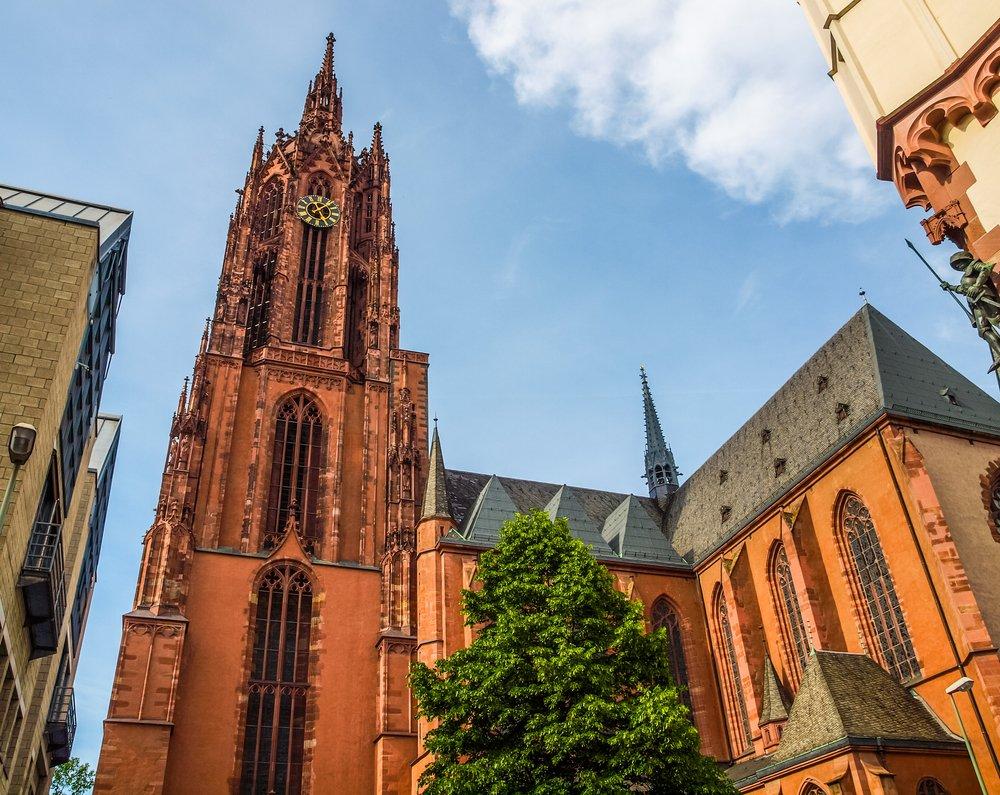 Frankfurt Katedrali - Shutterstock