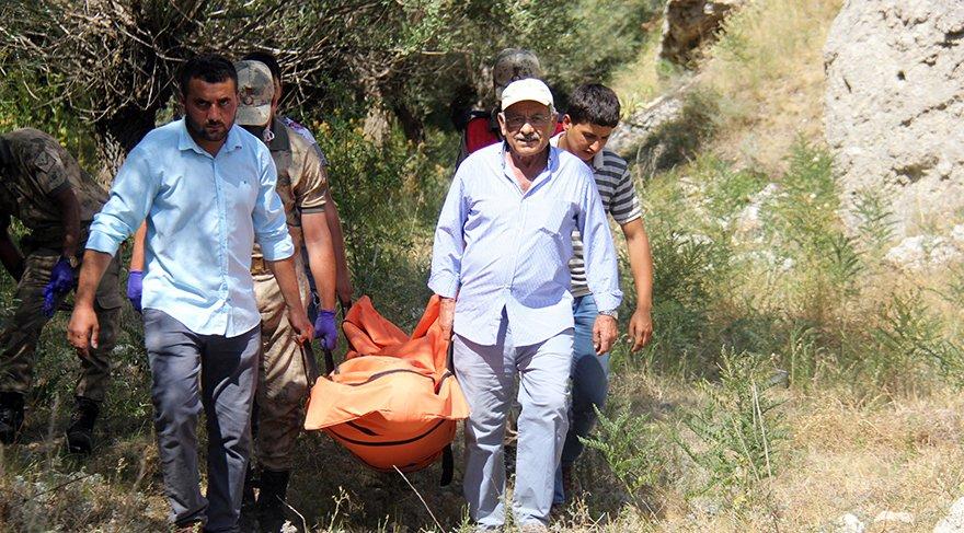 6 gündür kayıp olan 17 yaşındaki Serkan Ünlü'nün cesedi Hafik ilçesinde kayalıklarda bulundu.
