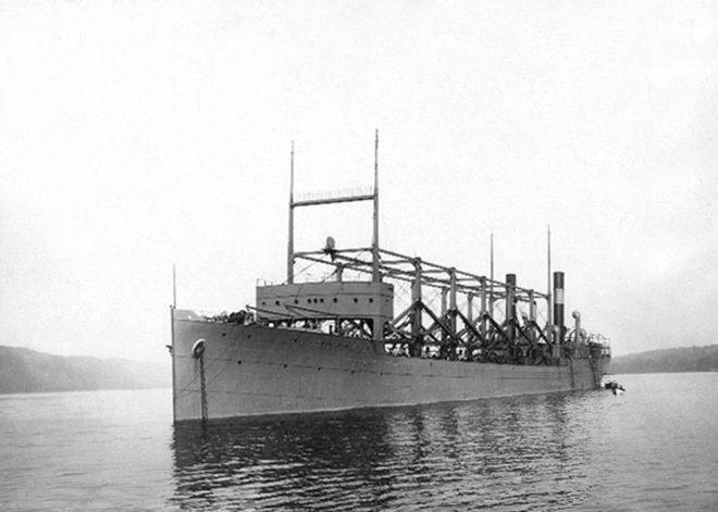 USS Cylops 1918'de içindeki 309 kişiyle ortadan kayboldu.