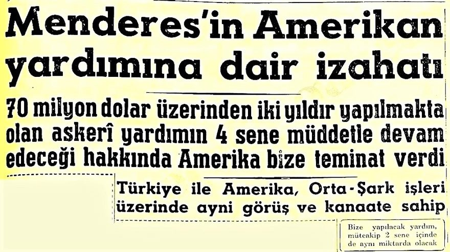 16 Haziran 1954 Hürriyet