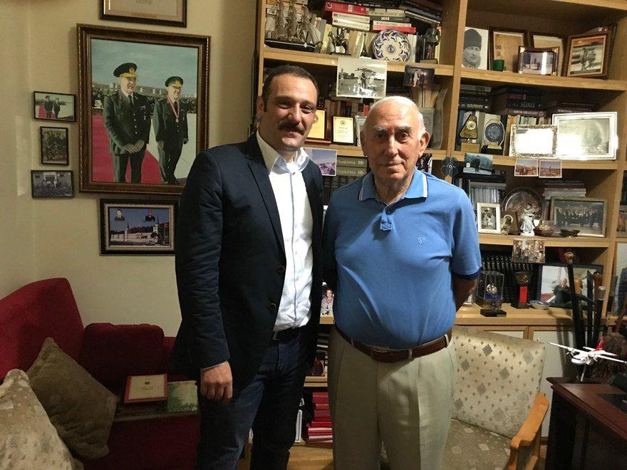 Necati Özgen, arkadaşımız Aytunç Erkin'in sorularını cevapladı.