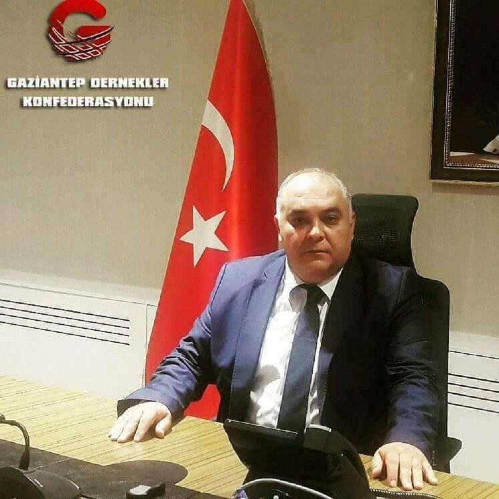 Gaziantep Dernekler Konfederasyonu Genel Başkanı Hasan Özaygut