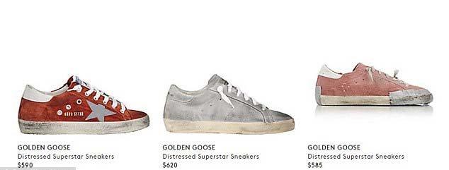 Golden Goose markasının daha önce çıkardığı modeller ve fiyatları...