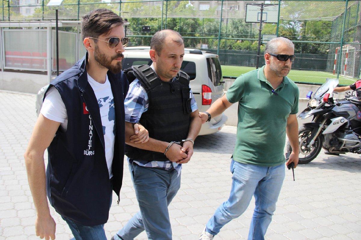 FOTO:İHA - Polis memuru Adem Yıldız tutuklu yargılanıyor.