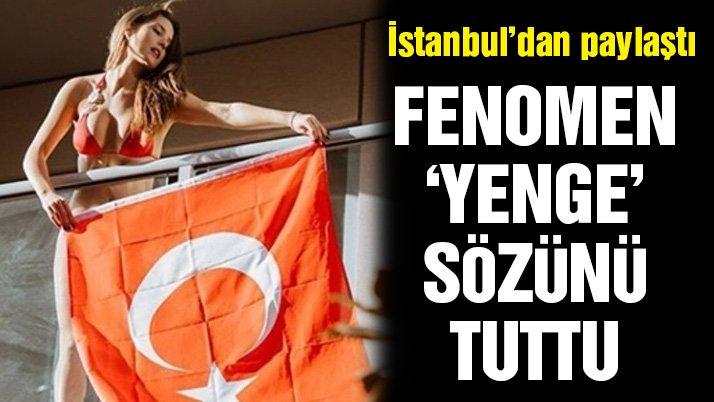 'Yenge' sözünü tuttu… Cerny'den İstanbul'da paylaşım
