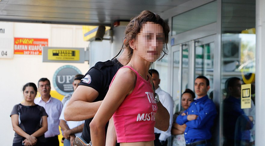 PTT yetkililerinin şikayetçi olmadığı kadın sorgusunun ardından serbest bırakıldı Foto DHA