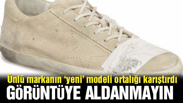 Dev markanın 'yeni' ayakkabısı ortalığı karıştırdı... Fiyatı el yakıyor