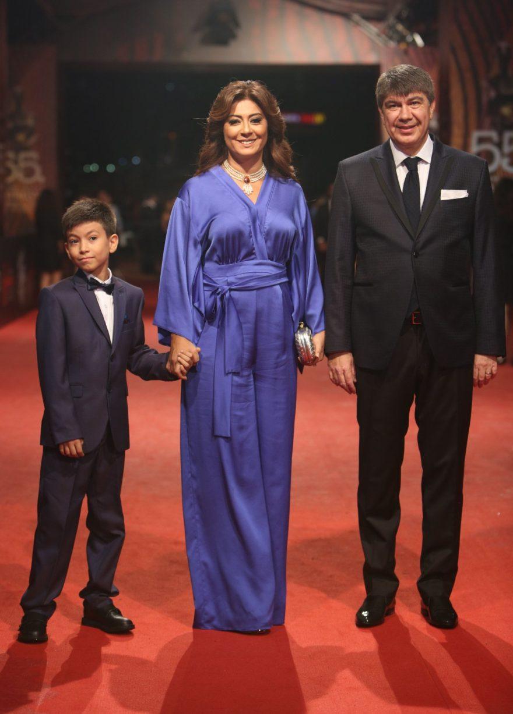 Menderes Türel törene ailesiyle birlikte katıldı. - DHA