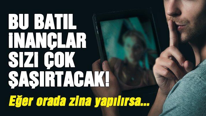 En acayip Türk batıl inançları