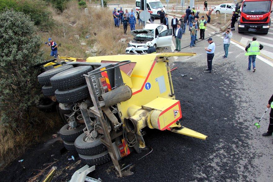 Feci kazada bir kişi hayatını kaybetti. DHA