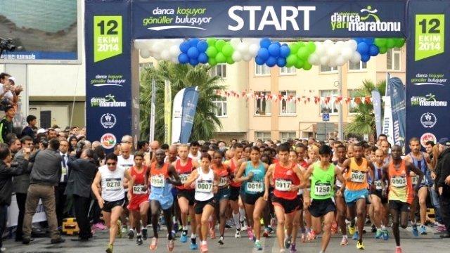 Uluslararası Darıca Yarı Maratonu ileri bir tarihe ertelendi.