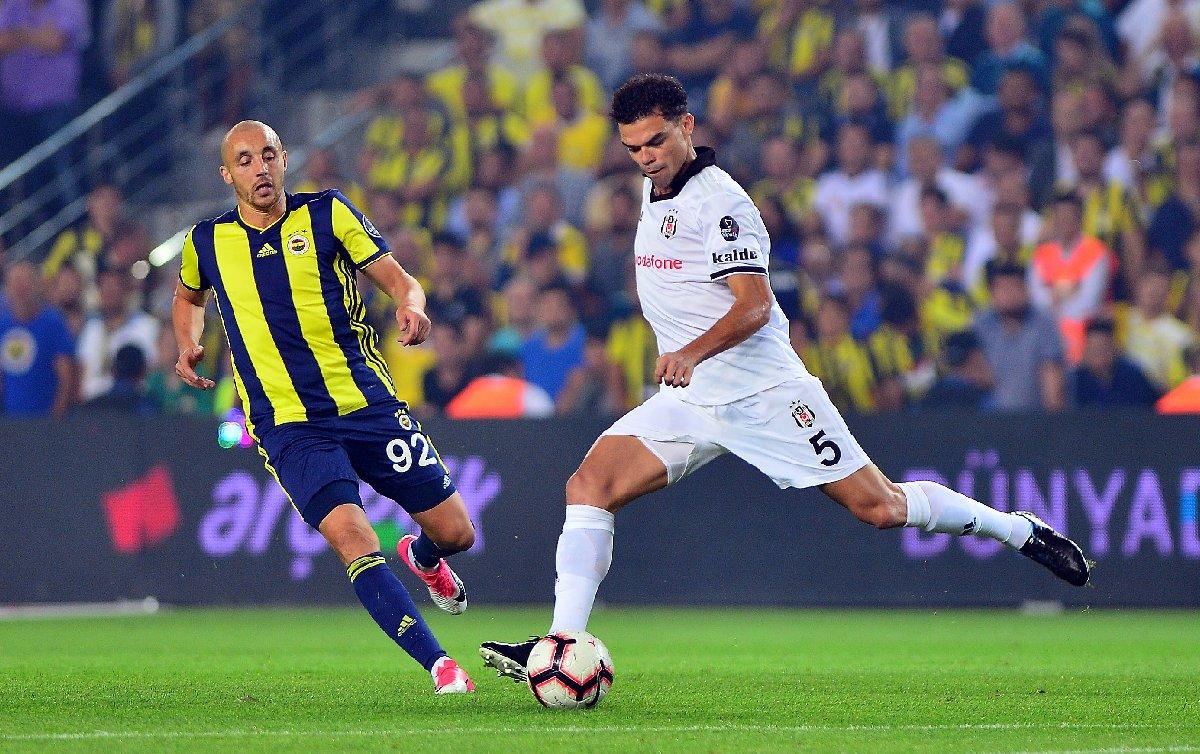 FOTO:İHA - Fenerbahçe ile Beşiktaş arasında oynanan maç 1-1 sona erdi.