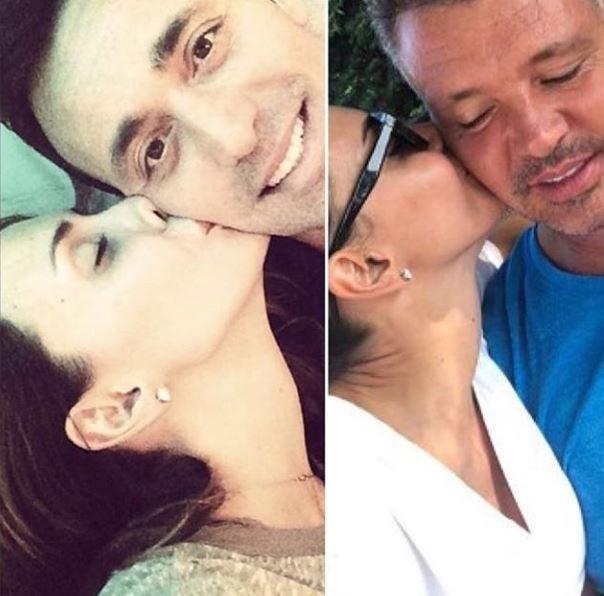 Sosyal medya kullanıcıları, Emina Jahovic'in daha önce Mustafa Sandal'ı öptüğü bir fotoğrafla, Sadettin Saran'ı öptüğü iddia edilen fotoğrafı yan yana koyarak, aradaki benzerliğe de dikkat çekti.
