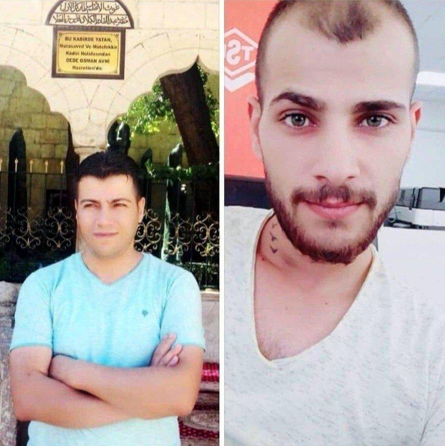 Fırat Nehrine giren Kadir Özpolat ve Seyit Özpolat kardeşler boğularak yaşamlarını yitirdi Fotoğraf: İHA