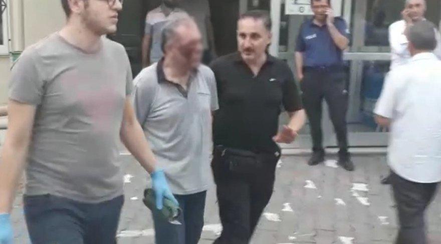 Soyguncu polis tarafından etkisiz hale getirildi. DHA