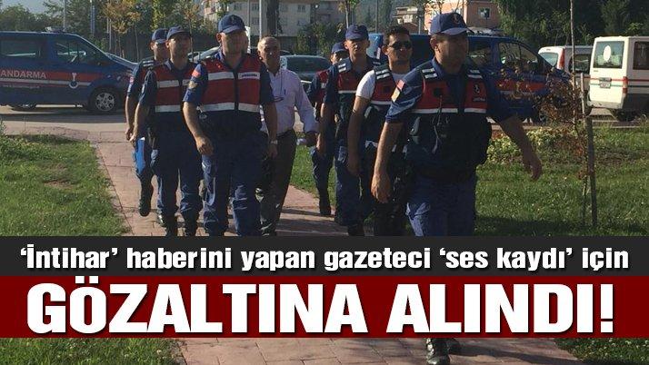 'İntihar' haberini yapan yerel gazeteci mahkemeye sevk edildi