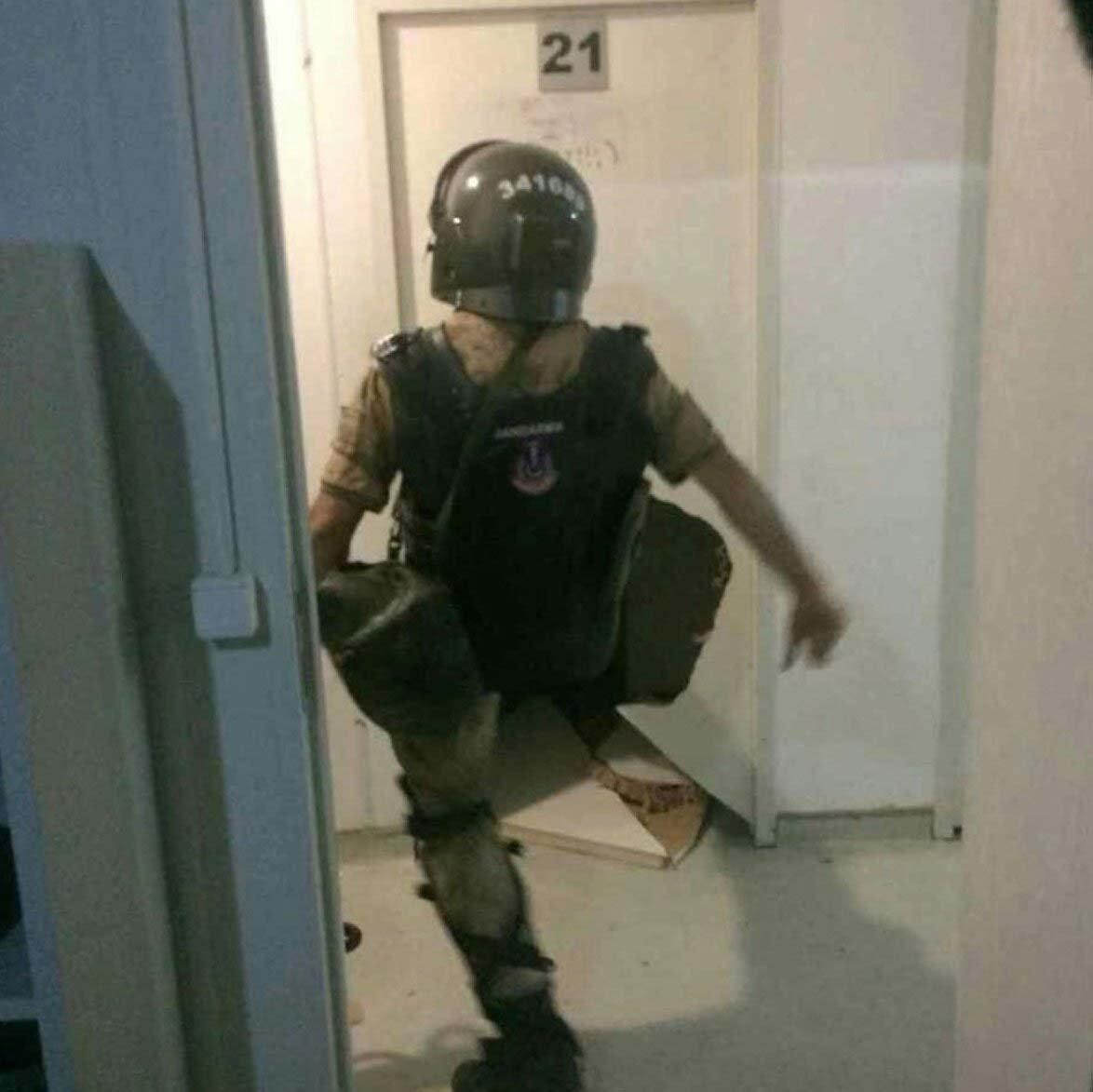 Gözaltıla işlemlerini Jandarma ekipleri yapmıştı.