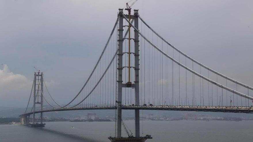 Osmangazi Köprüsü dolar yutuyor