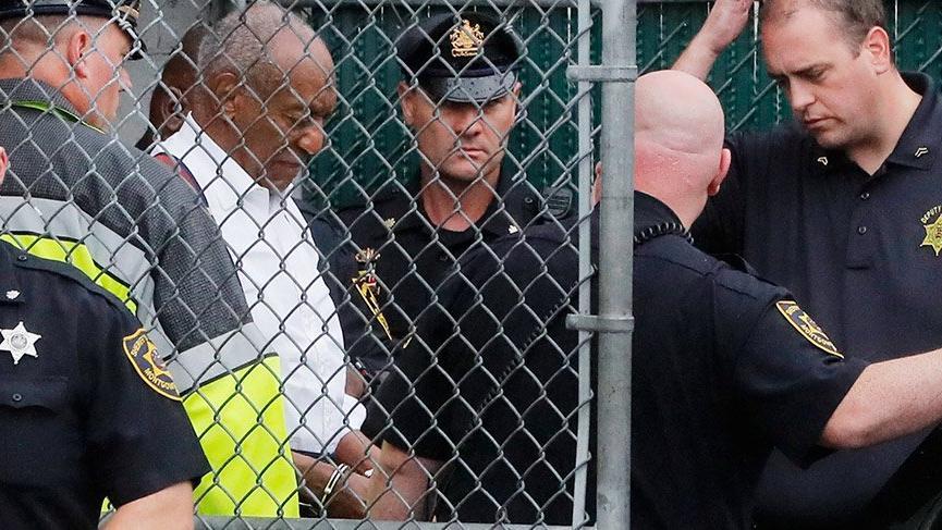 ABD'li ünlü komedyen Bill Cosby'e hapis cezası