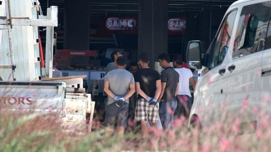 Bodrum'da elektronik eşya mağazasında bolyozlu soygun