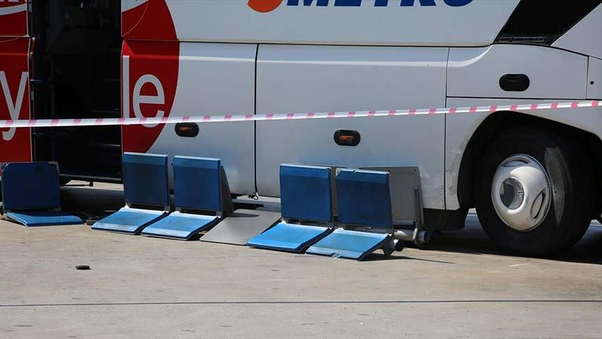 Manisa'da otobüs yayalara çarptı: 7 yaralı