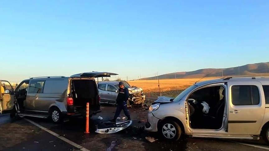 Damat, annesi ve amcası kazada öldü