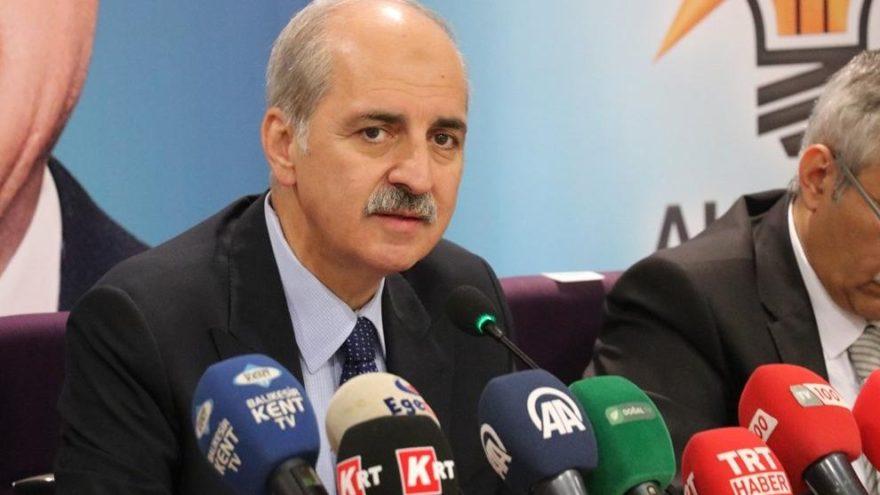 AKP'li Kurtulmuş: İttifak görüşmesi resmi değil