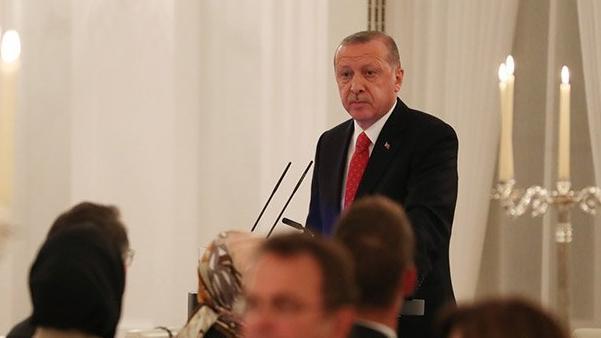 Cumhurbaşkanı Erdoğan, Alman şirketlerinin yöneticilerini kabul etti