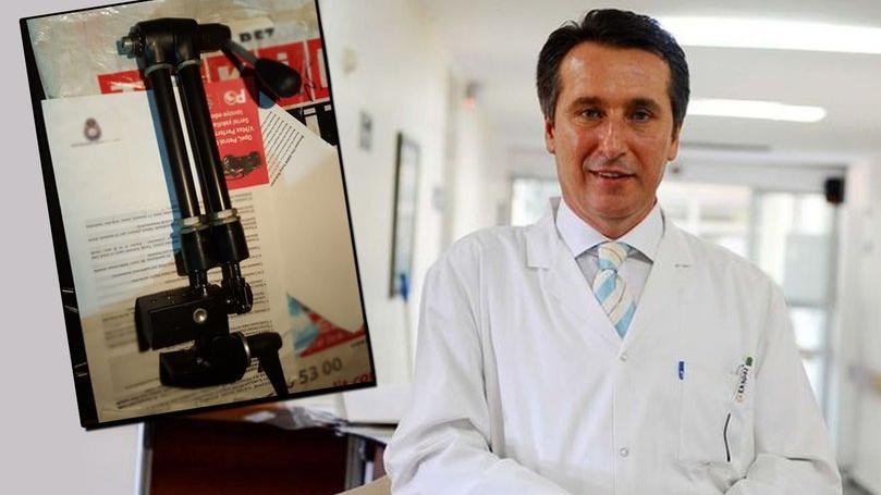Ünlü profesör Ömer Bender'in çalınan otomobili ve tıbbi cihazı bulundu