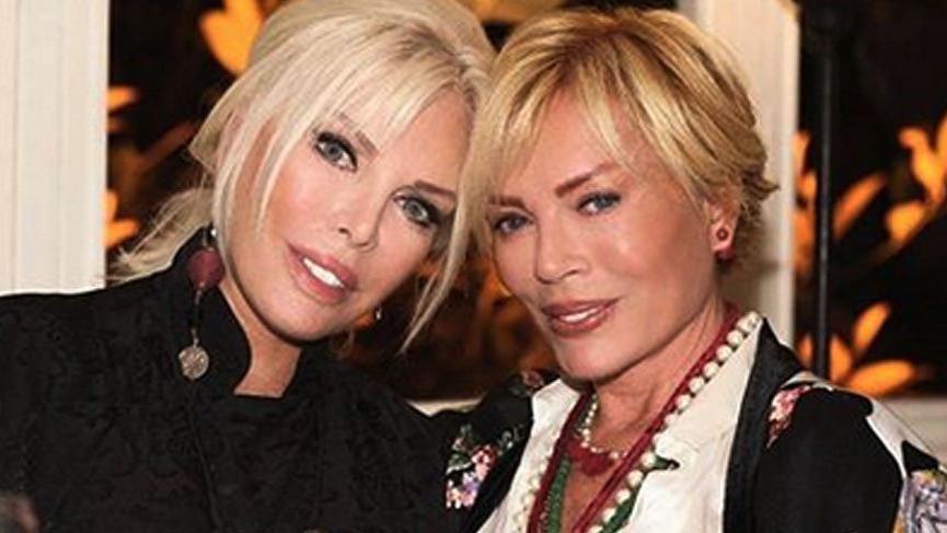 Ajda Pekkan kız kardeşi Semiramis Pekkan'ın doğum gününü kutladı