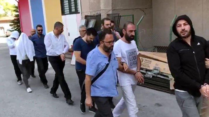 ABD Büyükelçiliği'ne saldırıda 6 şüpheli adliyeye sevk edildi
