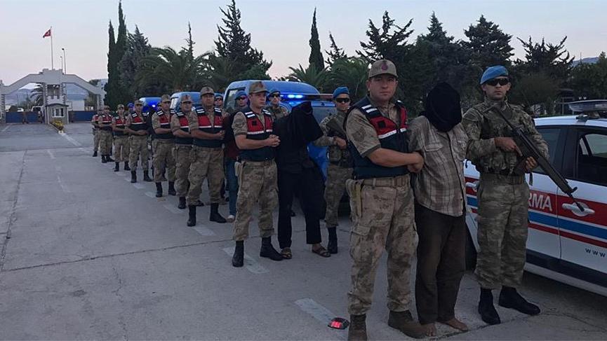 Zeytin Dalı Harekatı'nda 2 askeri şehit eden 9 terörist yakalandı