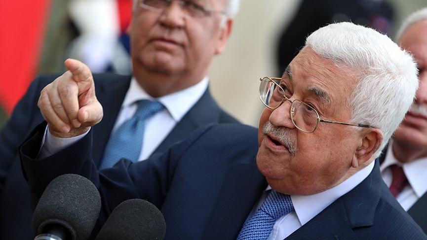 Filistin Devlet Başkanı'ndan flaş açıklama!