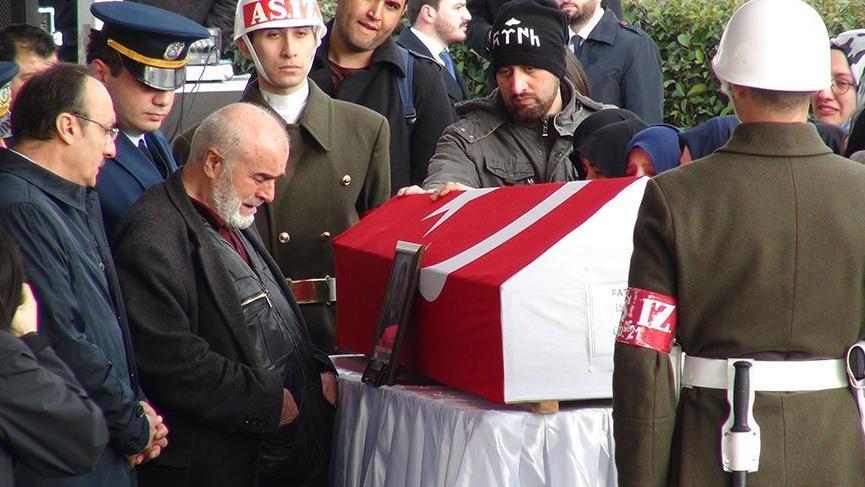 Afrin şehidi piyade üstçavuş Mehmethan son yolculuğuna uğurlandı
