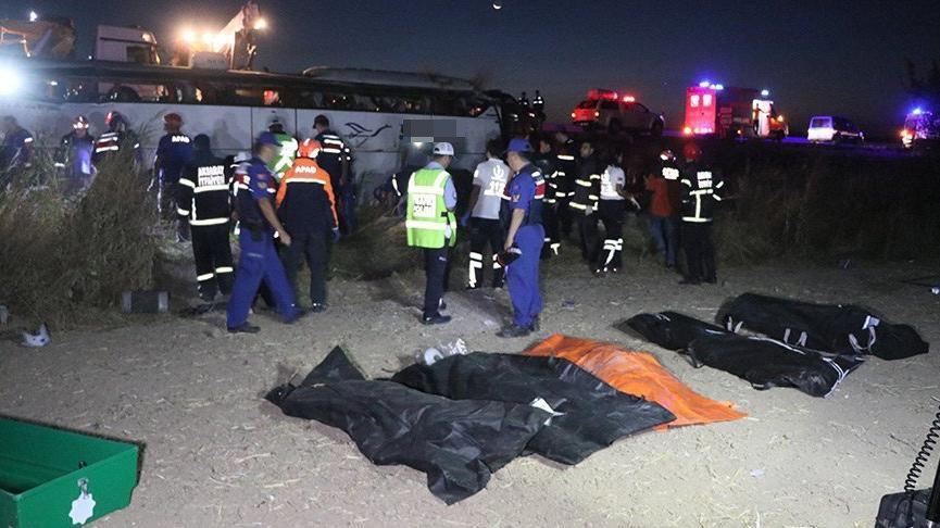 Aksaray'da feci kaza! Çok sayıda ölü ve yaralı var