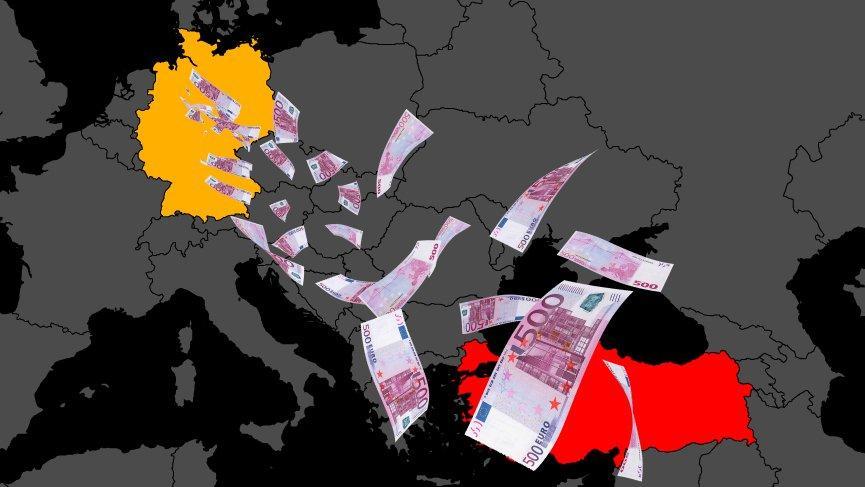 10 milyon euro az gönderdiler 1 milyar TL kazandılar