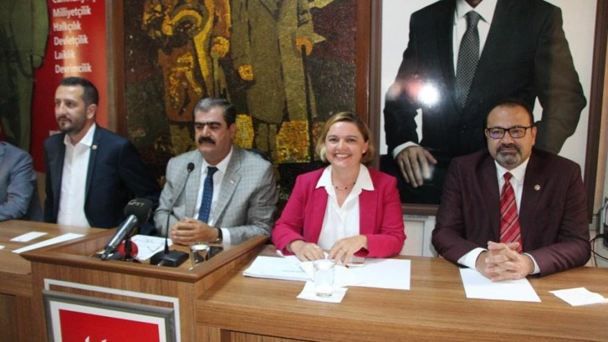 CHP'nin 'Ekonomi Masası' heyeti Gaziantep'te