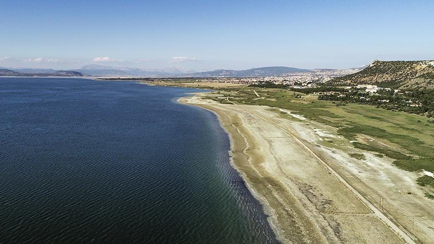 Burdur Gölü kuruyor